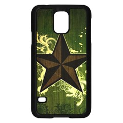 Star Dark Pattern  Samsung Galaxy S5 Case (black) by amphoto