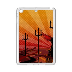 Wings Drawing Poles  Ipad Mini 2 Enamel Coated Cases by amphoto