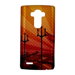 Wings Drawing Poles  Lg G4 Hardshell Case by amphoto