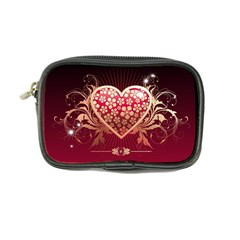 Heart Patterns Lines  Coin Purse by amphoto
