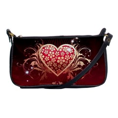 Heart Patterns Lines  Shoulder Clutch Bags by amphoto