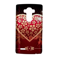 Heart Patterns Lines  Lg G4 Hardshell Case by amphoto