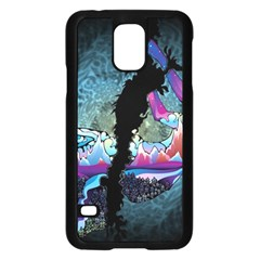 Girl Dress Fly  Samsung Galaxy S5 Case (black) by amphoto