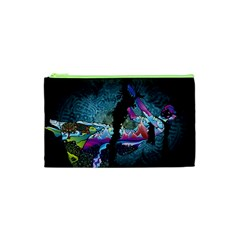 Girl Dress Fly  Cosmetic Bag (xs) by amphoto
