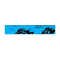 Fish Skeleton Paint  Flano Scarf (mini) by amphoto