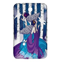 Girl Forest Trees Samsung Galaxy Tab 3 (7 ) P3200 Hardshell Case  by amphoto