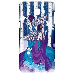 Girl Forest Trees Samsung C9 Pro Hardshell Case  by amphoto