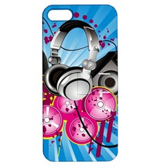 Speakers Headphones Colorful  Apple Iphone 5 Hardshell Case With Stand by amphoto