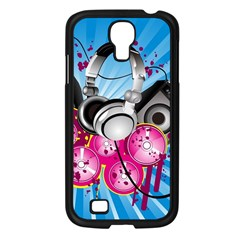 Speakers Headphones Colorful  Samsung Galaxy S4 I9500/ I9505 Case (black) by amphoto