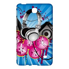 Speakers Headphones Colorful  Samsung Galaxy Tab 4 (7 ) Hardshell Case  by amphoto