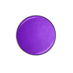 Purple Skin Leather Texture Pattern Hat Clip Ball Marker by paulaoliveiradesign