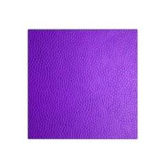 Purple Skin Leather Texture Pattern Satin Bandana Scarf by paulaoliveiradesign