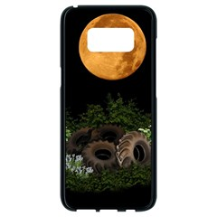 Ecology  Samsung Galaxy S8 Black Seamless Case by Valentinaart