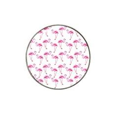 Flamingo Pattern Hat Clip Ball Marker by Valentinaart