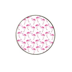 Flamingo Pattern Hat Clip Ball Marker (10 Pack) by Valentinaart