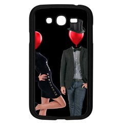 Love Samsung Galaxy Grand Duos I9082 Case (black) by Valentinaart