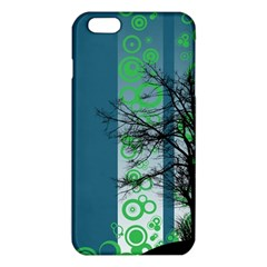Tree Circles Lines  Iphone 6 Plus/6s Plus Tpu Case by amphoto