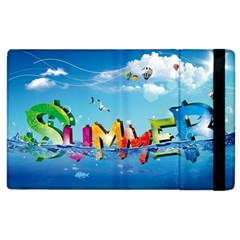 Summer Sea Clouds  Apple Ipad 3/4 Flip Case by amphoto