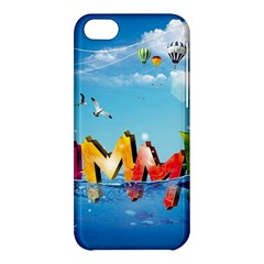 Summer Sea Clouds  Apple Iphone 5c Hardshell Case by amphoto