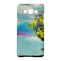 Man Crazy Surreal  Samsung Galaxy A5 Hardshell Case  by amphoto