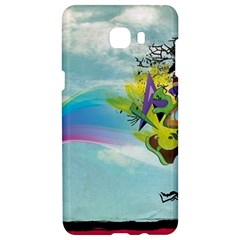 Man Crazy Surreal  Samsung C9 Pro Hardshell Case  by amphoto