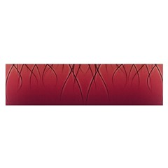 Waves Lines Bands Satin Scarf (oblong) by amphoto