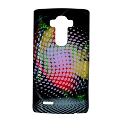 Colorful Lines Dots  Lg G4 Hardshell Case by amphoto