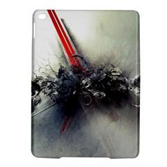 Blast Paint Shadow  Ipad Air 2 Hardshell Cases by amphoto