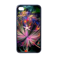 Patterns Lines Bright  Apple Iphone 4 Case (black) by amphoto