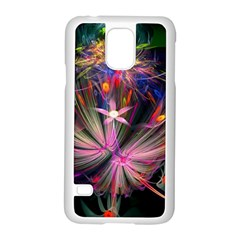 Patterns Lines Bright  Samsung Galaxy S5 Case (white) by amphoto