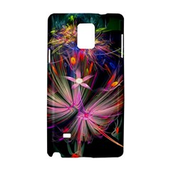 Patterns Lines Bright  Samsung Galaxy Note 4 Hardshell Case by amphoto