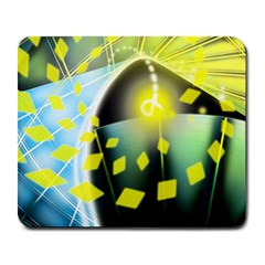 Line Light Form  Large Mousepads by amphoto