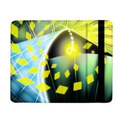 Line Light Form  Samsung Galaxy Tab Pro 8 4  Flip Case by amphoto