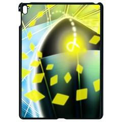Line Light Form  Apple Ipad Pro 9 7   Black Seamless Case by amphoto