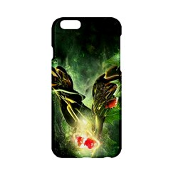 Leaves Explosion Line  Apple Iphone 6/6s Hardshell Case by amphoto