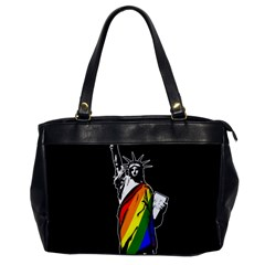 Pride Statue Of Liberty  Office Handbags by Valentinaart