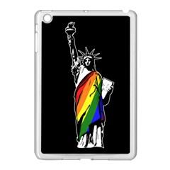 Pride Statue Of Liberty  Apple Ipad Mini Case (white) by Valentinaart