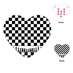 Chess  Playing Cards (heart)  by Valentinaart