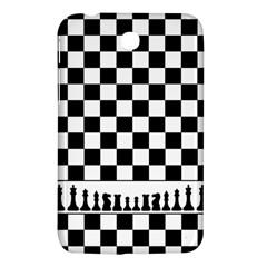 Chess  Samsung Galaxy Tab 3 (7 ) P3200 Hardshell Case  by Valentinaart