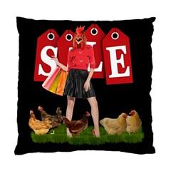 Sale Standard Cushion Case (one Side) by Valentinaart