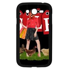 Sale Samsung Galaxy Grand Duos I9082 Case (black) by Valentinaart