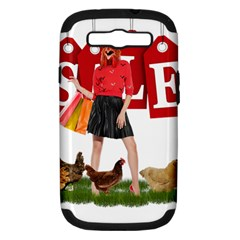 Sale Samsung Galaxy S Iii Hardshell Case (pc+silicone) by Valentinaart