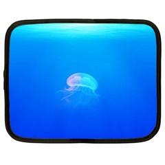 Jellyfish Netbook Case (xxl)  by Valentinaart