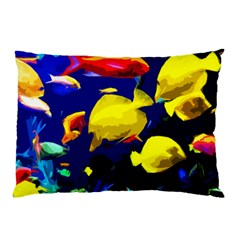 Tropical Fish Pillow Case by Valentinaart