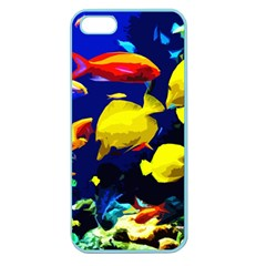 Tropical Fish Apple Seamless Iphone 5 Case (color) by Valentinaart