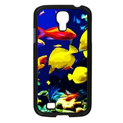 Tropical Fish Samsung Galaxy S4 I9500/ I9505 Case (black) by Valentinaart