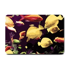 Tropical Fish Small Doormat  by Valentinaart