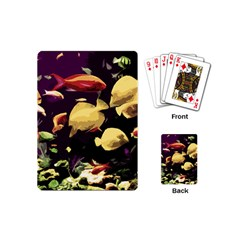 Tropical Fish Playing Cards (mini)  by Valentinaart