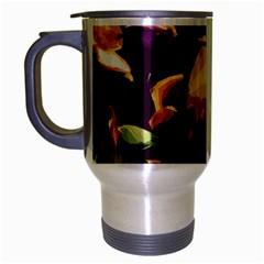 Tropical Fish Travel Mug (silver Gray) by Valentinaart