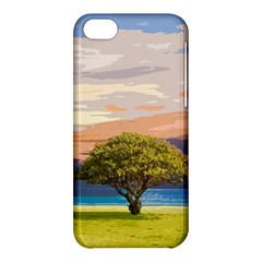 Landscape Apple Iphone 5c Hardshell Case by Valentinaart
